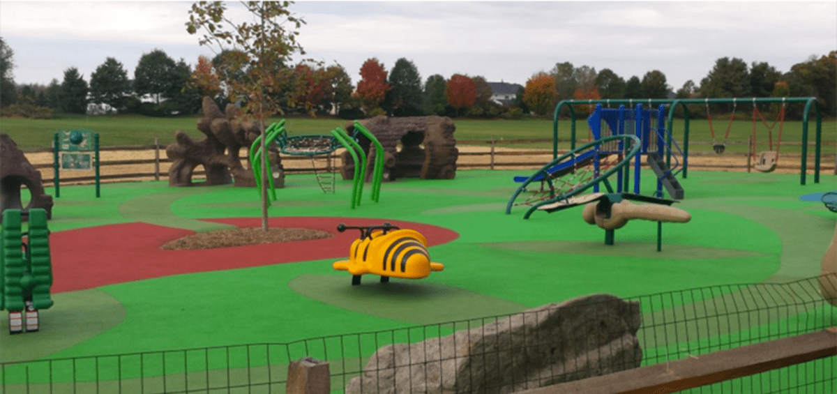 LMT Inclusive Playground at Memorial Park - Lower Makefield Township